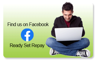 Find us on Facebook ReadySetRepay